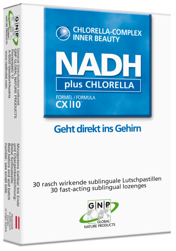 NADH Chlorella hilft Stoffwechsel und Immunsystem