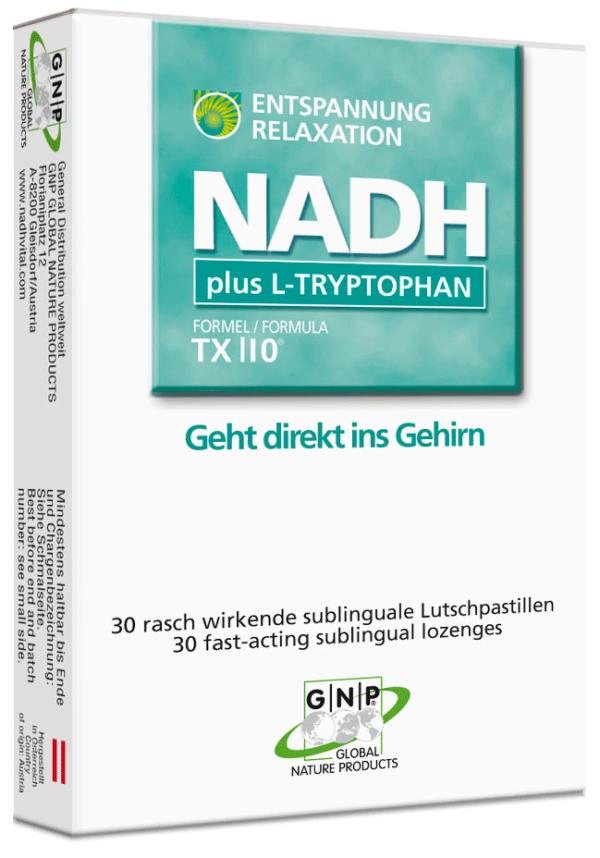 NADH L Tryptophan Entspannung Besser Einschlafen hilft gegen Müdigkeit