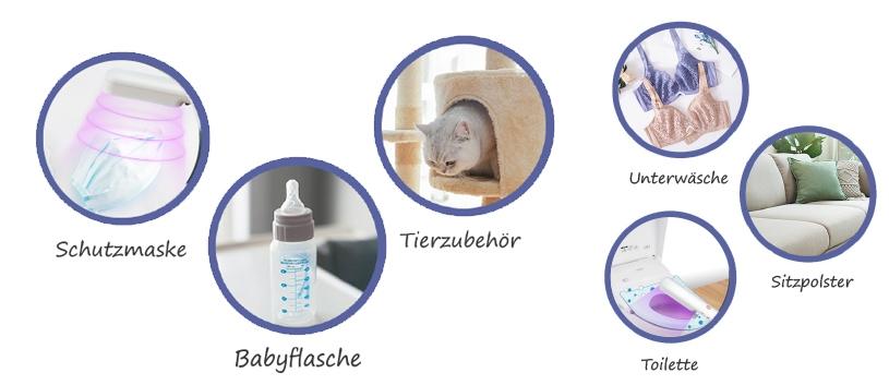 Schutzmaske Toilette Babyflasche Unterwäsche Sitzpolster Tierzubehör Desinfektion