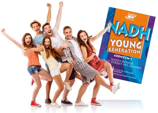 Nadh Young Generation für Jugendliche gibt Energie für den Tag